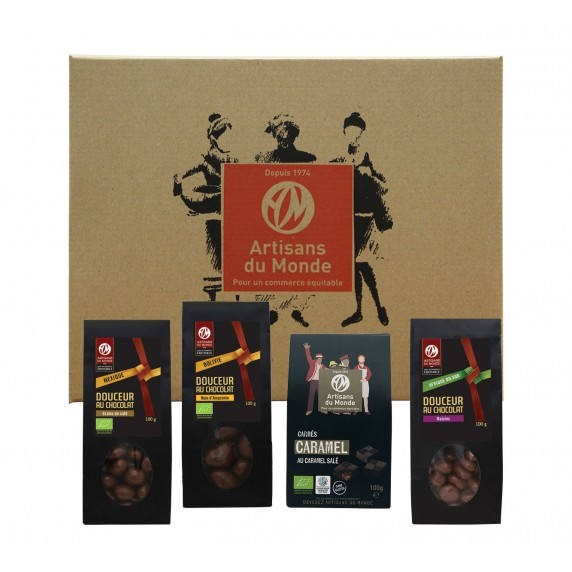 coffret equitable chocolats