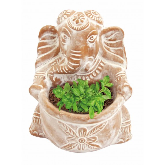 Planteur Ganesh céramique équitable