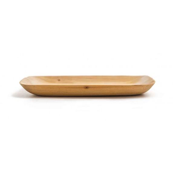 plat rectangle bois