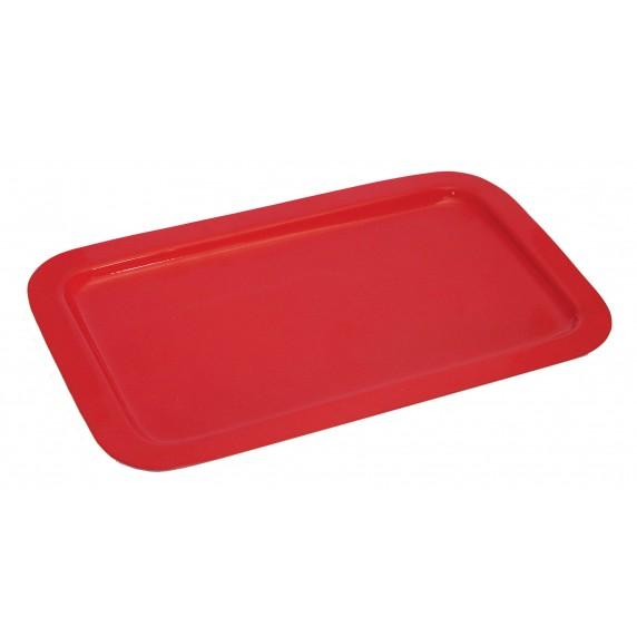 plateau rouge metal
