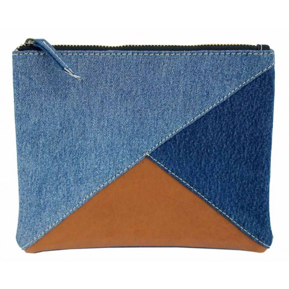 pochette jean recycle equitable