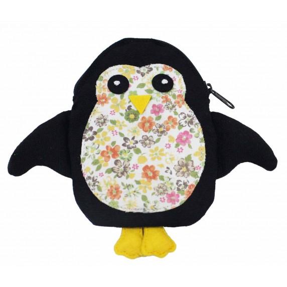 porte-monnaie pingouin