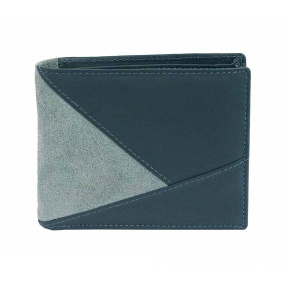 portefeuille commerce equitable vert de gris