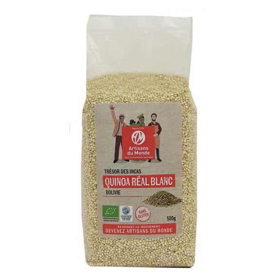 Quinoa réal blanc bio et équitable