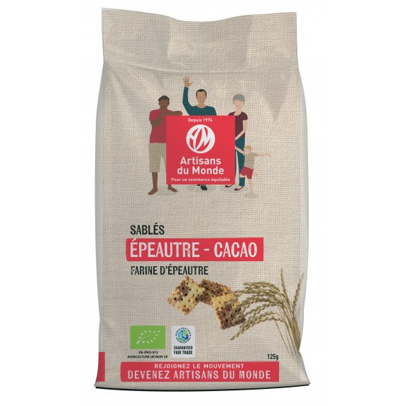 sables cacao epeautre bio equitable