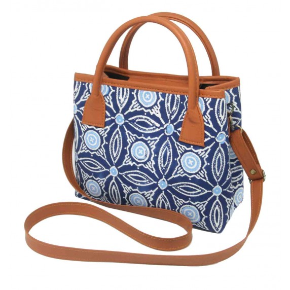 sac a main batik equitable bleu