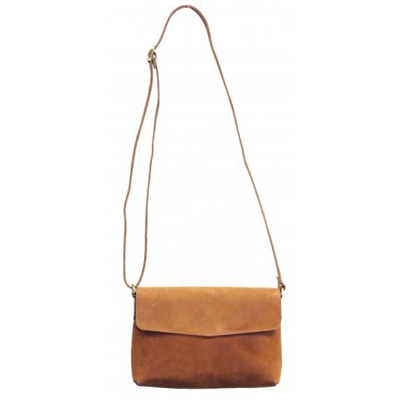 sac a main cuir marron