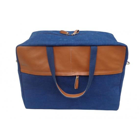 sac de voyage jean recycle equitable ethique