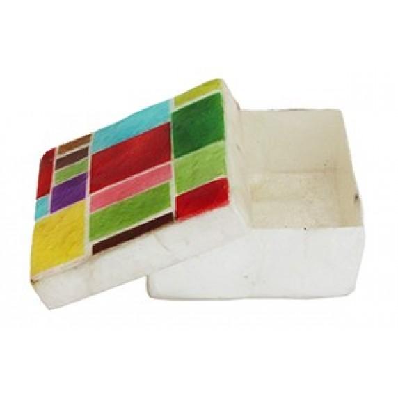 Boîte carrée Mondrian