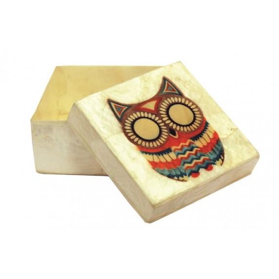 Boîte carrée Buho