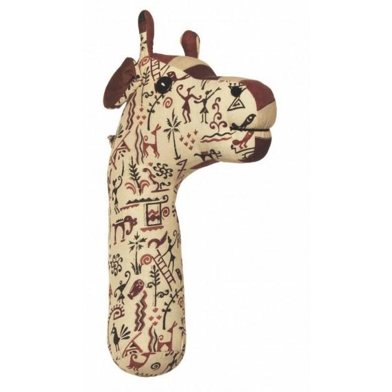 Trophée mural Girafe
