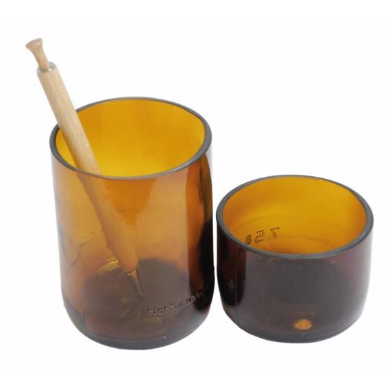 pot verre recycle equitable