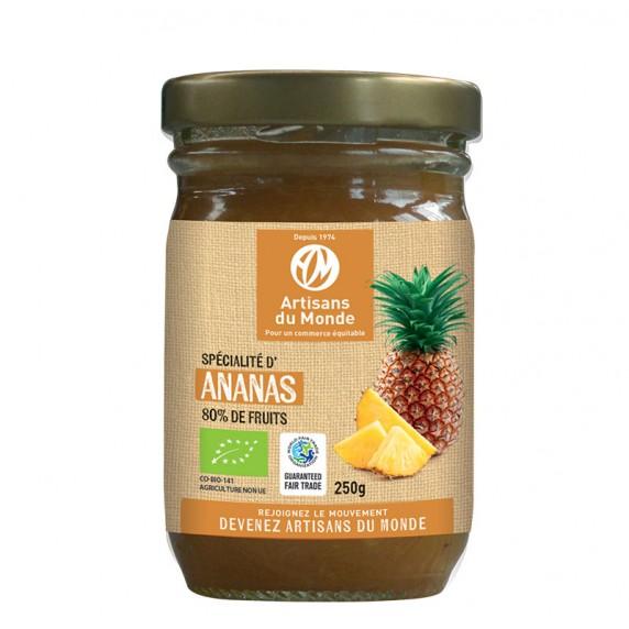 specialite ananas confiture compote equitable bio