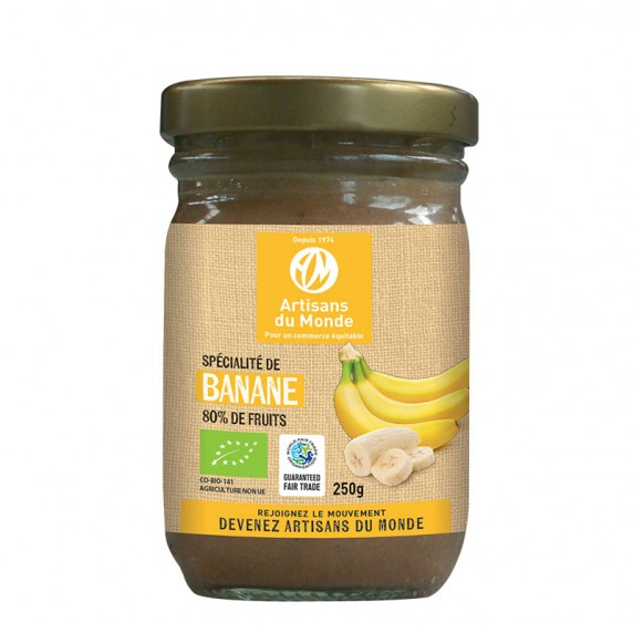 specialite fruits banane confiture bio