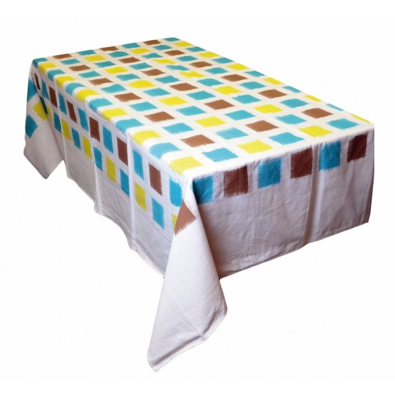 Nappe Ikat coton - Inde