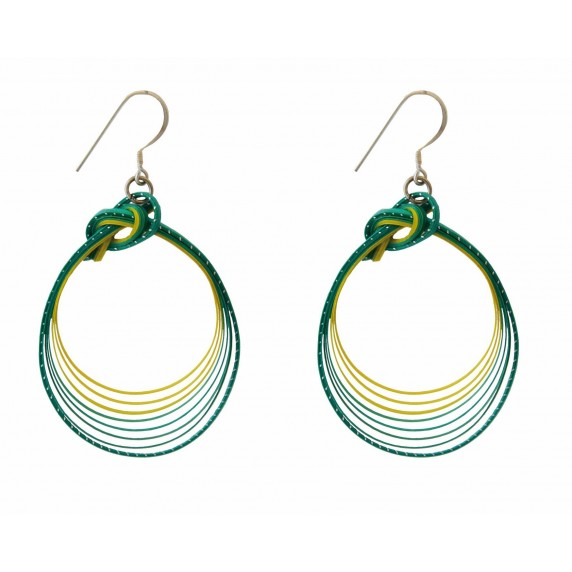 BOUCLES D'OREILLE WIPA TURQUOI