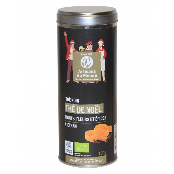 Thé noir de Noël 100g* tube