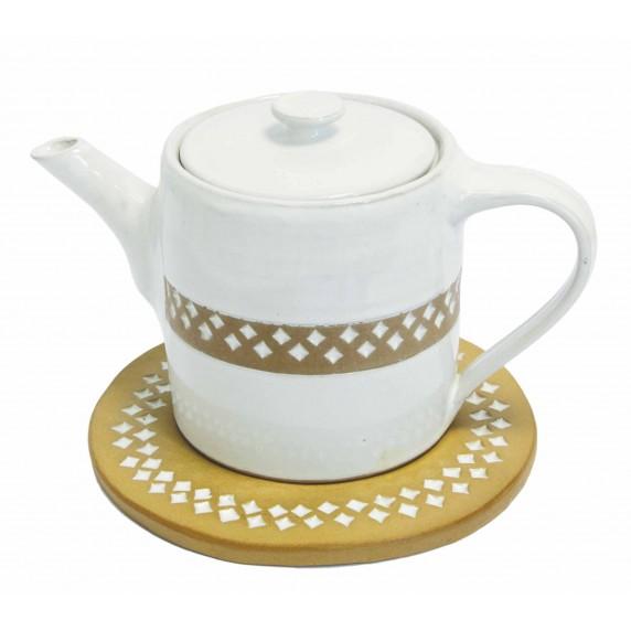 theiere ceramique equitable
