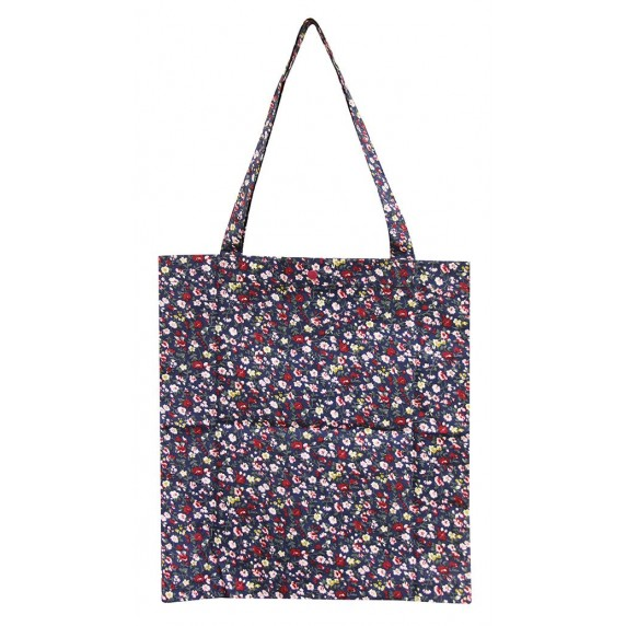 Tote bag à fleurs équitable