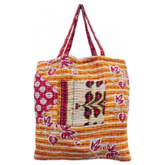 tote bag sari recyclé