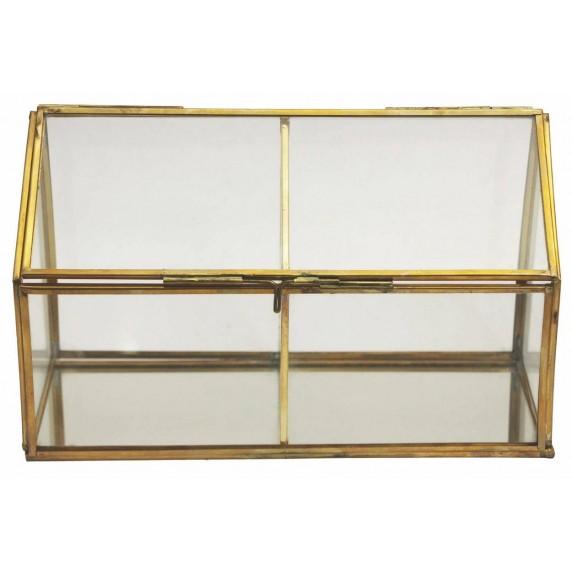 Boîte vitrine 2 compartiments
