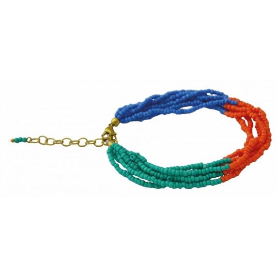 Bracelet Gita Turquoise - Inde