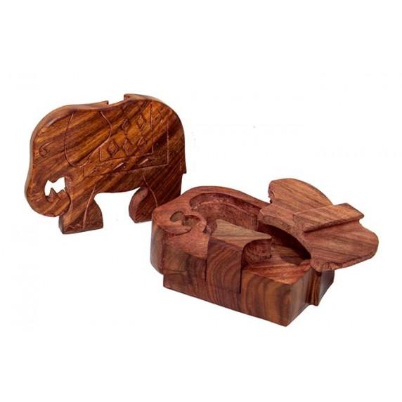 Boîte à secrets Éléphant