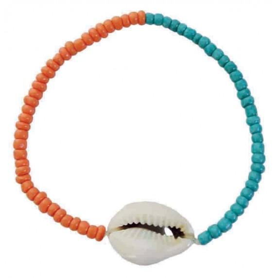 Bracelet coquillage cauri