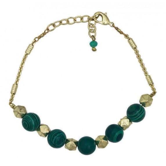 Bracelet équitable vert