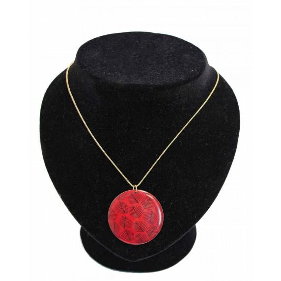 collier rouge noire equitable