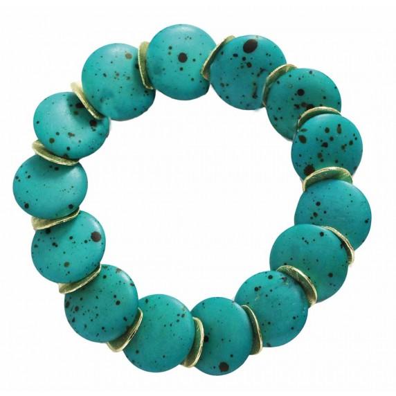 bracelet bleu equitable
