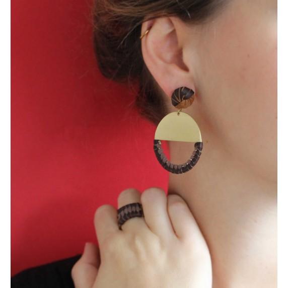 Boucles d'oreilles Maora