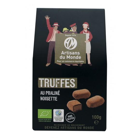 truffes chocolat noel bio equitable