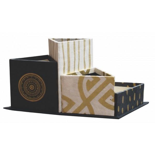 organiseur de bureau awashi. Black Bedroom Furniture Sets. Home Design Ideas