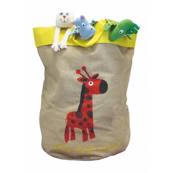 sac jouets girafe. Black Bedroom Furniture Sets. Home Design Ideas