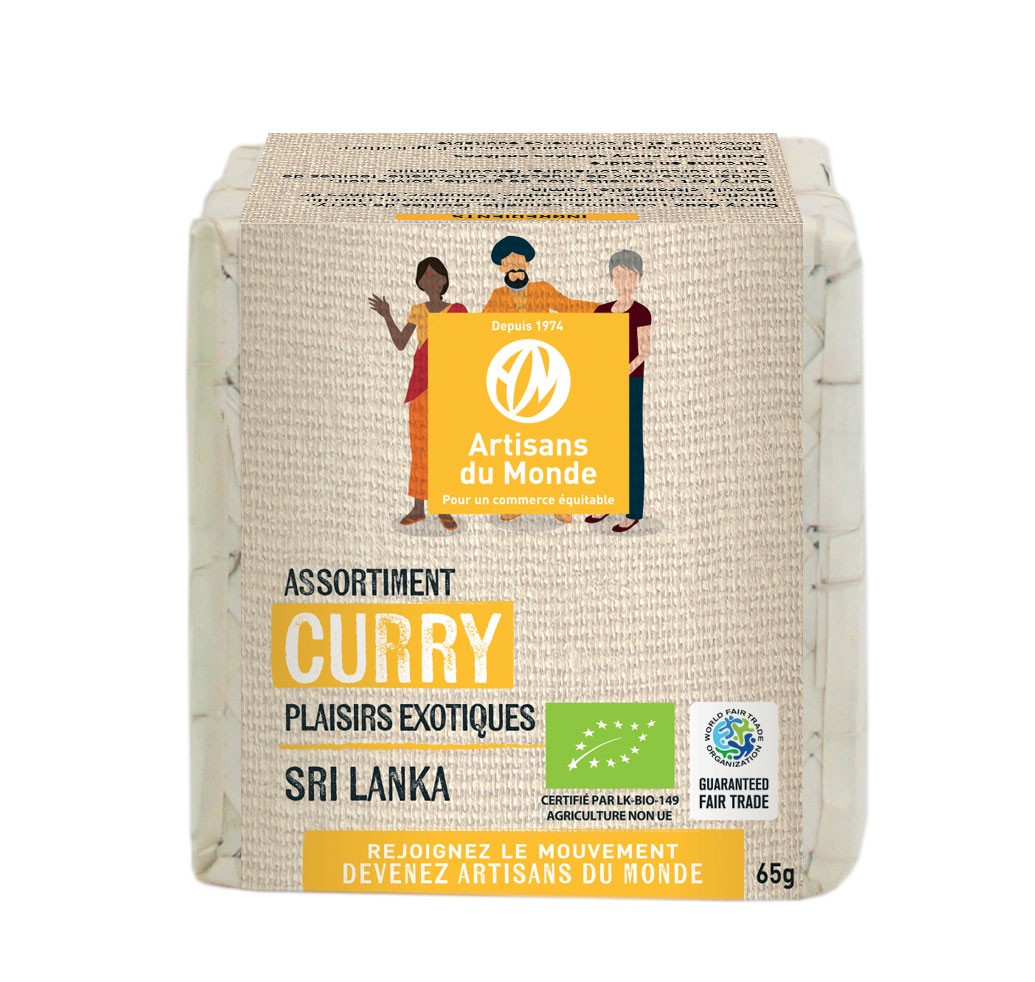 ASSORTIMENT DE CURRY BIO 65G