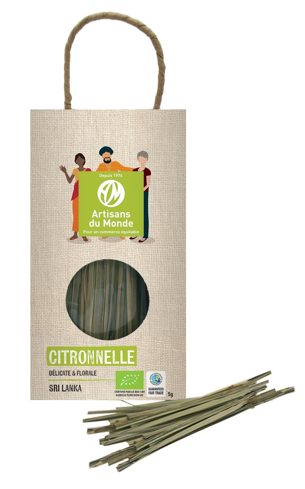 Citronnelle Bio - 5gr