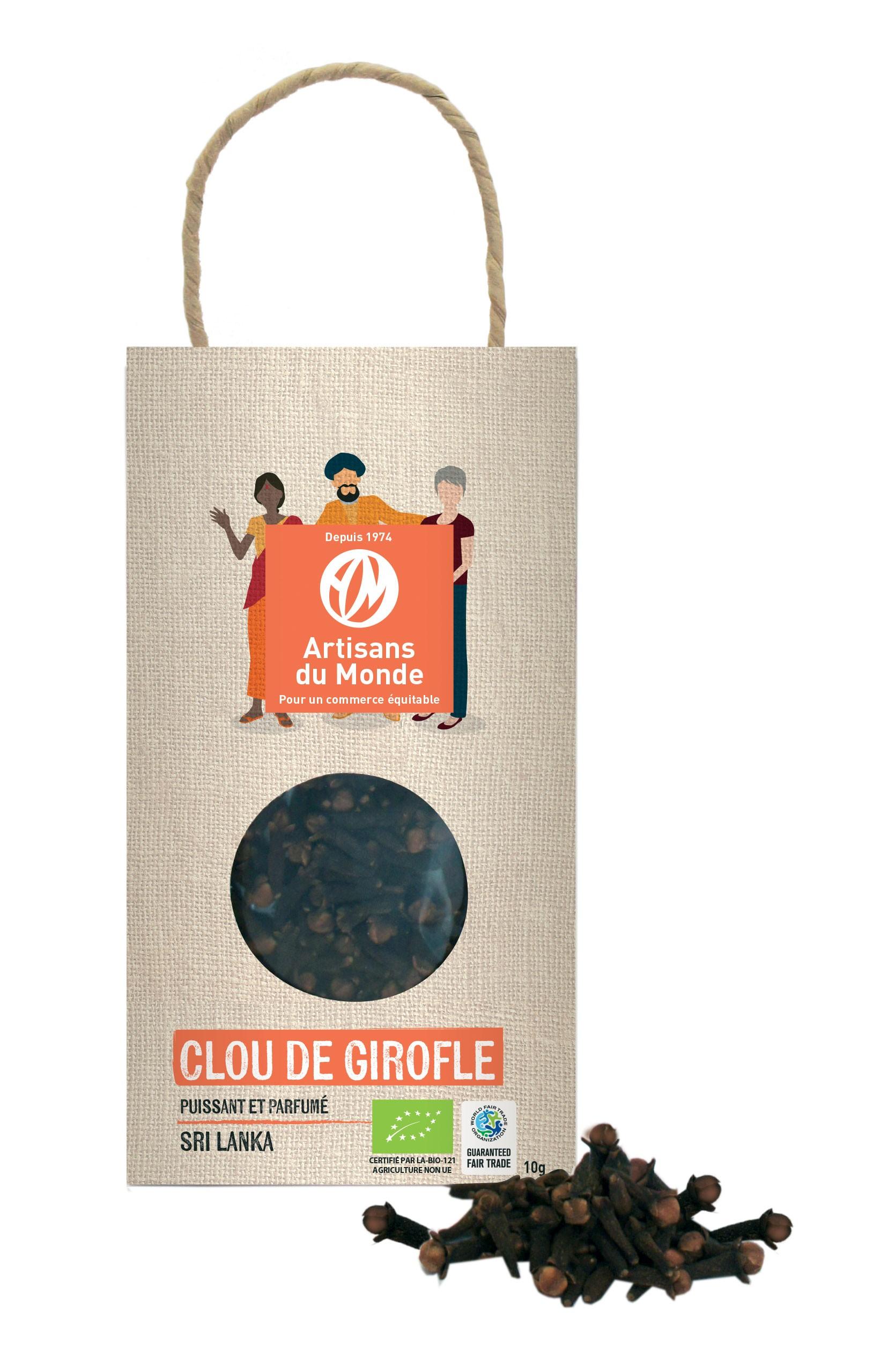 CLOU DE GIROFLE BIO 10 G.