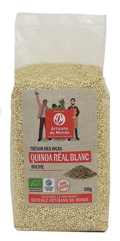 Quinoa blanc équitable et bio - 500gr