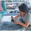 technique indigo batik equitable